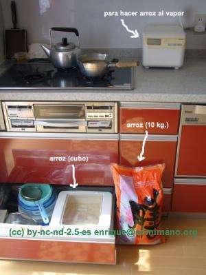 kit de arroz